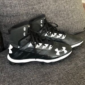 Under armor football cleats size 10